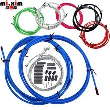 MIXIM корпус кабель шланг комплект тормозной переключатель для Shimano для Sram велосипед Derailluer тормозной кабель и рычаг переключения передач проволочная линия