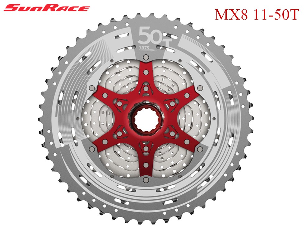 2017 SunRace MX8 11 50 t 11 speed mtb bicycle cassette mtb bicycle wheel free cassette
