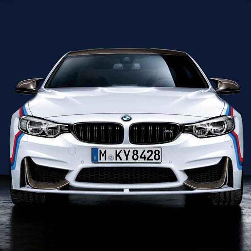Three color stripes logo design car body refit decor stickers and decals,car styling for BMW E46/E39/E60/E90/E36/F10 and so on