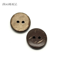 50PCs Brown Coconut Shell