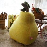 HOT SALE Cartoon Plush Soft Cushion 40cm housse de coussin couch pillows fruit doll pear cojines decorative pillows Cushion