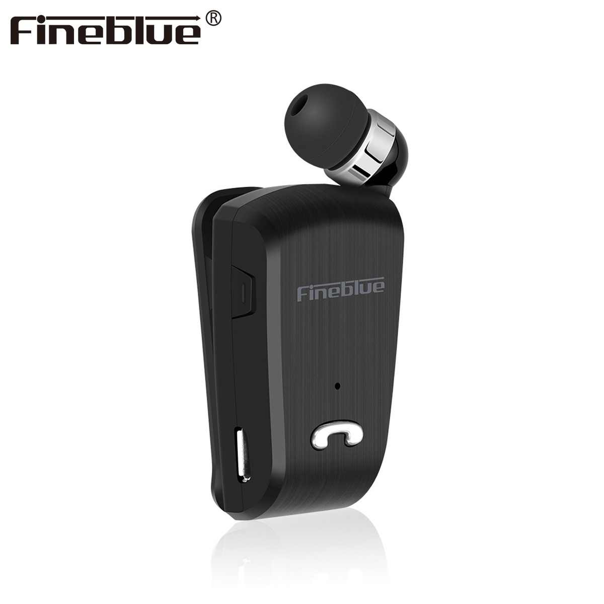 Fineblue L18 Mini Wireless business Bluetooth Headset Sport Driver Earphone Telescopic Clip on stereo earbuds with Mic CSR8615