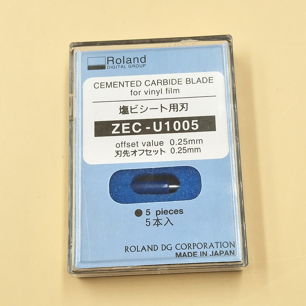 5pcs 45 degree ROLAND Cutting Plotter Blades ZEC U1005 For Roland XC 540 SP 300 VS