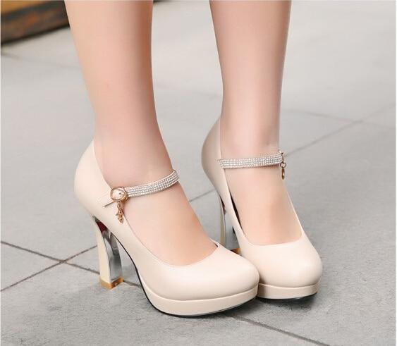 big size 33 43 women pump shoes new vintage mary janes. Black Bedroom Furniture Sets. Home Design Ideas