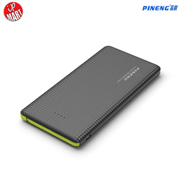 Pineng 10000 mah banco de alimentación pn 951 moblie banco carga de la batería portátil shake & start li-polímerocapacidad indicador para iphone6s