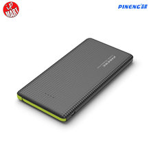 Pineng 10000mah Power Bank PN 951 Moblie Bank power Portable Battery Pack Shake&Start Li-Polymer Capacity Indicator For iphone6s