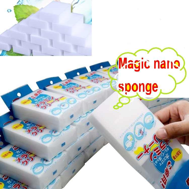 1pc Sponge Eraser Kitchen duster wipes Home Clean Accessory Microfiber Dish Cleaning Melamine sponge nano wholesale