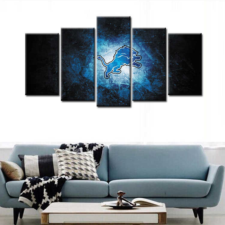 Wholesale 5 Pieces/set Movie Poster Series Canvas Painting for living room Decoration Print Canvas Pictures /Abstrac- (115)