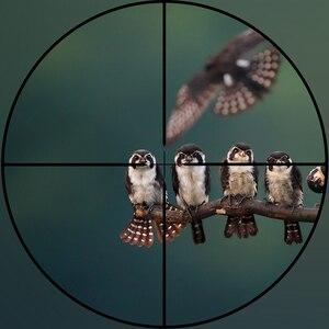 Image 2 - Diana Tactische 4X32 Riflescope Een Buis Glas Dubbele Crosshair Richtkruis Optische Zicht Richtkijker