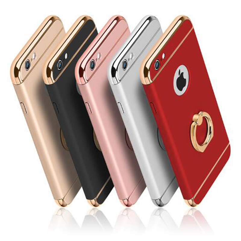 luxury Ultra Thin Shockproof <font><b>Armor</b></font> plastic mobile Phone <font><b>cases</b></font>,coque,<font><b>case</b></font> <font><b>for</b></font> <font><b>iPhone</b></font> 5s 6 6s 8 7 Plus XR <font><b>XS</b></font> 11 pro <font><b>max</b></font> with stand image