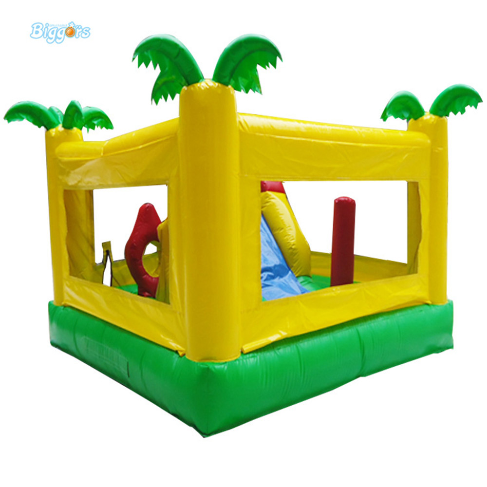 Commercial Inflatable Bounce House Tropical inflatable jumping house with air blowers commercial tropical inflatable jumping bounce house inflatable kids combo bouncy house for sale