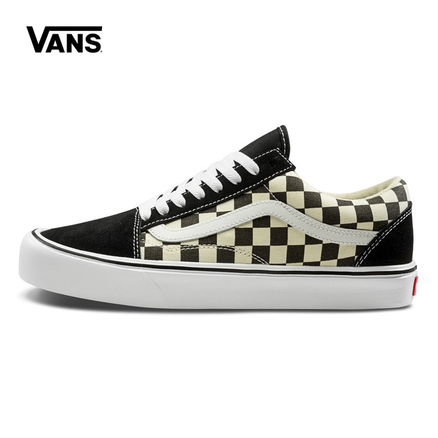 df135ff3f7fa Original New Arrival Vans Men s   Women s Classic Old Skool Lite  Skateboarding Shoes Sport Outdoor Sneakers Canvas VN0A2Z5W5GX