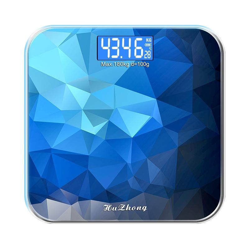 LumiParty Digital Body Weight Scale Precision household Bathroom Weighing Machine LED Backlight Display -25
