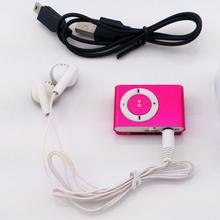 2016 font b Portable b font Metal Clip MP3 Player with 8 Candy Colors No Memory