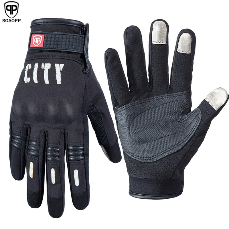 Roaopp Motorrad Handschuhe Touchscreen Volle Finger Motocross Handschuhe Fahrrad Radfahren Motorrad Guantes Luvas Motocicleta