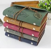 Лучшие Ruize горячая Распродажа Винтаж путешественник ноутбук кожаный журнал дневник пустой крафт-бумага записная книжка Sketchbook A6 A7 кольцо связующего
