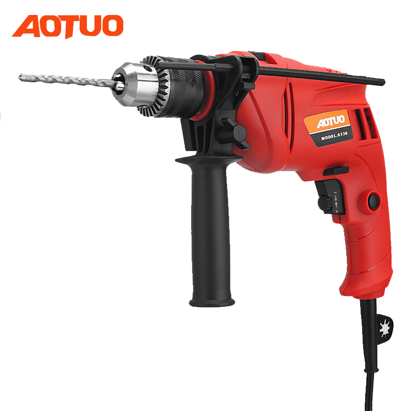 Aotuo Electric drill 220v 3000 rpm Electric screwdriver drilling machine Tool Dremel Drill wiring Tools Electric screwdriver free shipping brand proskit upt 32007d frequency modulated electric screwdriver 2 electric screwdriver bit 900 1300rpm tools