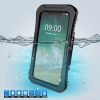 For IPhone X 10 IP68 10M Underwater Waterproof Case For IPhone X 10 5 8 Inch