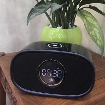Original KINGONE K66 Multifunction Stereo Bluetooth Loud 16W Speaker BT4.2 FM AUX USB TF Card Handsfree Mic Alarm clock function