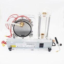 Máquina de agua de electrolisis generador de oxígeno de hidrógeno generador de llama de oxi-hidrógeno soldador de agua Y