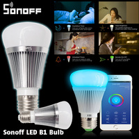 Sonoff B1 Dimmer Led Bulb Wifi Smart Remote Control Light Bulbs Led RGB And White Color