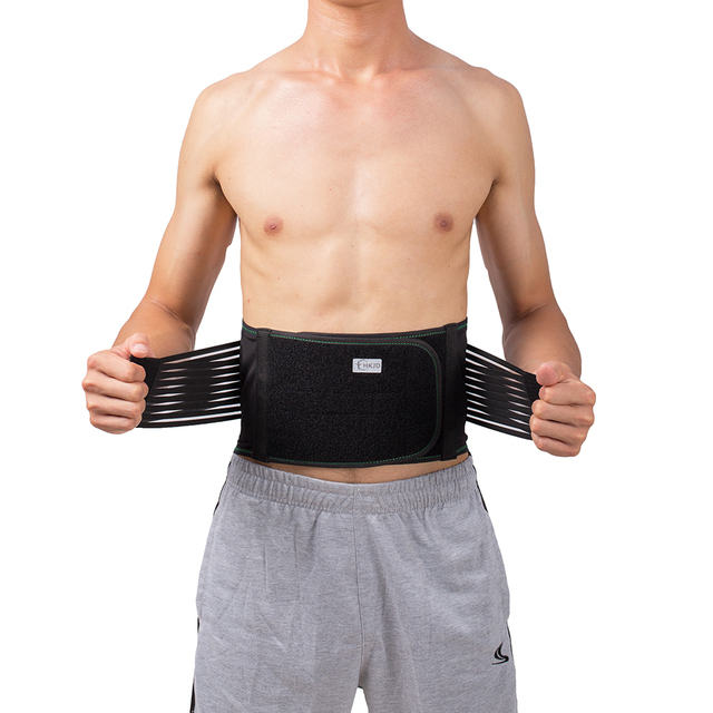 Lower Back Lumbar Spinal Spine Waist Brace Support Belt Corset Stabilizer Cincher Tummy Trimmer Trainer Weight Loss Slimming 2