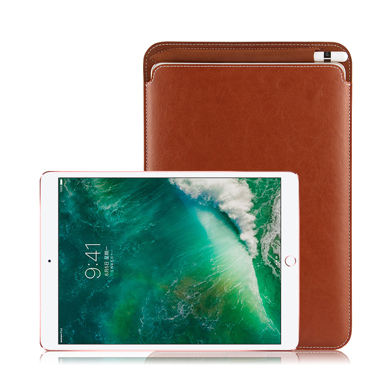 Case Sleeve For iPad Pro 10.5 New 2017 Protective Leather Cases PU Bag Cover with Pencil Slot For Apple iPad Pro10.5inch Tablet for apple ipad pro 12 9 2017 case fashion retro pu leather cases for ipad pro new 12 9 2017 tablet smart cover case pen