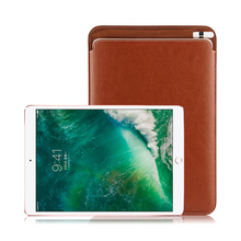 Case Sleeve For iPad Pro 10.5 New 2017 Protective Leather Cases PU Bag Cover with Pencil S