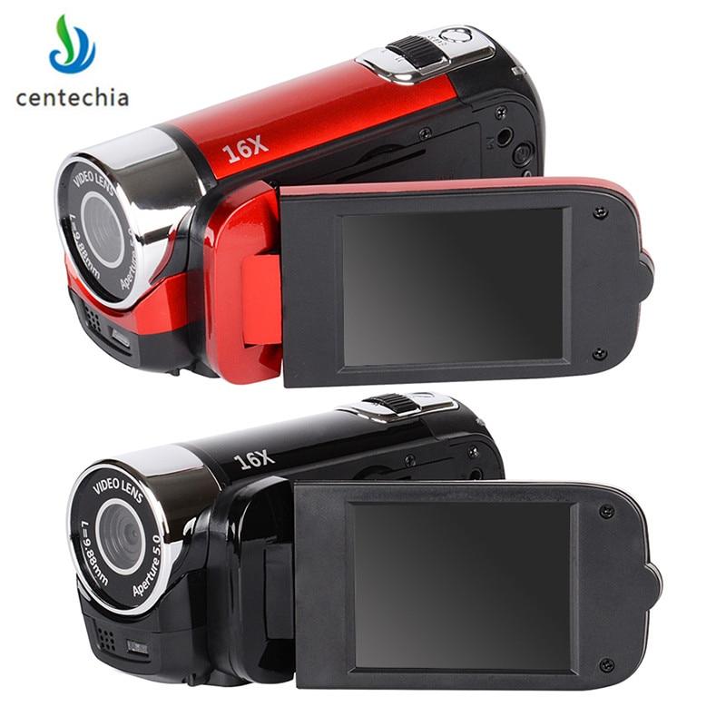 Camera Camcorder 1080P HD 2.7-inch digital camera travel outdoor anti-shake camera LCD flash cameras