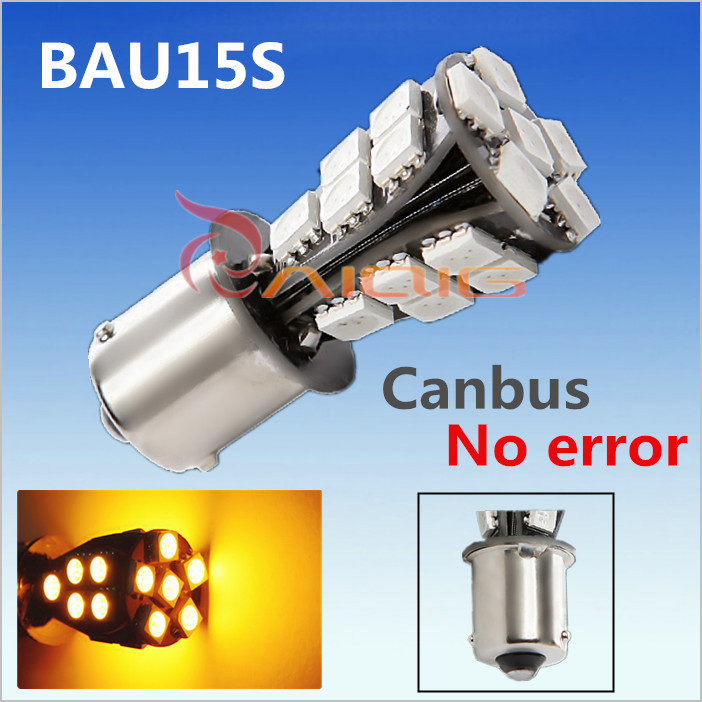 1156 BAU15S 21 SMD Amber Yellow CANBUS OBC No Error Car LED Light Bulb py21w led lamp Turn Signal Car Light Source 12V 10pcs t10 white blue yellow canbus 5630 6smd 6 smd w5w 194 501 bulb no obc error clearance led turn wedge light side lamp dc 12v