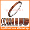 5pcs/lots 5/10/20/30/50mm X 108 ft Dark brown Heat Resistant High Temperature Polyimide Adhesive Tape