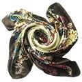 2014 марка дизайнер женская двойной свет стиль шифон шарфы и площади платок размер 90 * 90 см