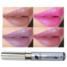 New Lip Gloss Glitter Lipstick Liquid Matt Cosmetics Nude Daily Long Lasting Charming Lips Makeup Professional For Ladies