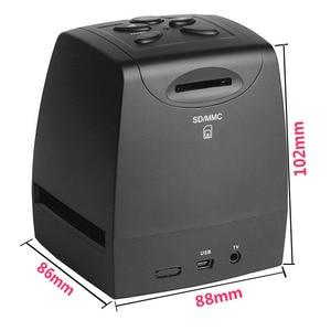 "Image 2 - MINI 5MP 35mm Negative Film Scanner Negative Slide Photo film Converts USB Cable LCD Slide 2.4"" TFT for Picture"