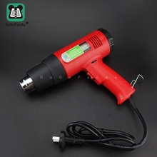FreeShipping Industrial Electronic Digital Display Heat Gun Blower Air Drying Film Baking Plastic Welding Torch 220V 2000W/1600W