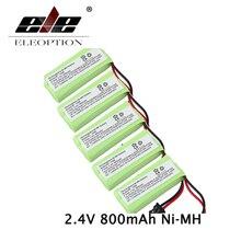 ELEOPTION 5PCS 2.4V 800mAh High Quality Uniden BT-1021 Cordless Handset Recharge