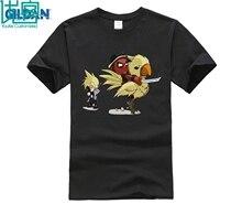 Fantasy VII Deadpool Riding Chocobo Shirts