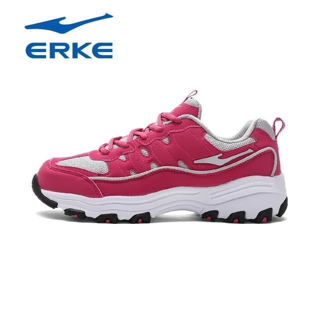 Ерке Новое поступление фирменных спортивная ходьба открытый кроссовки для женщин производство качества кроссовки обувь