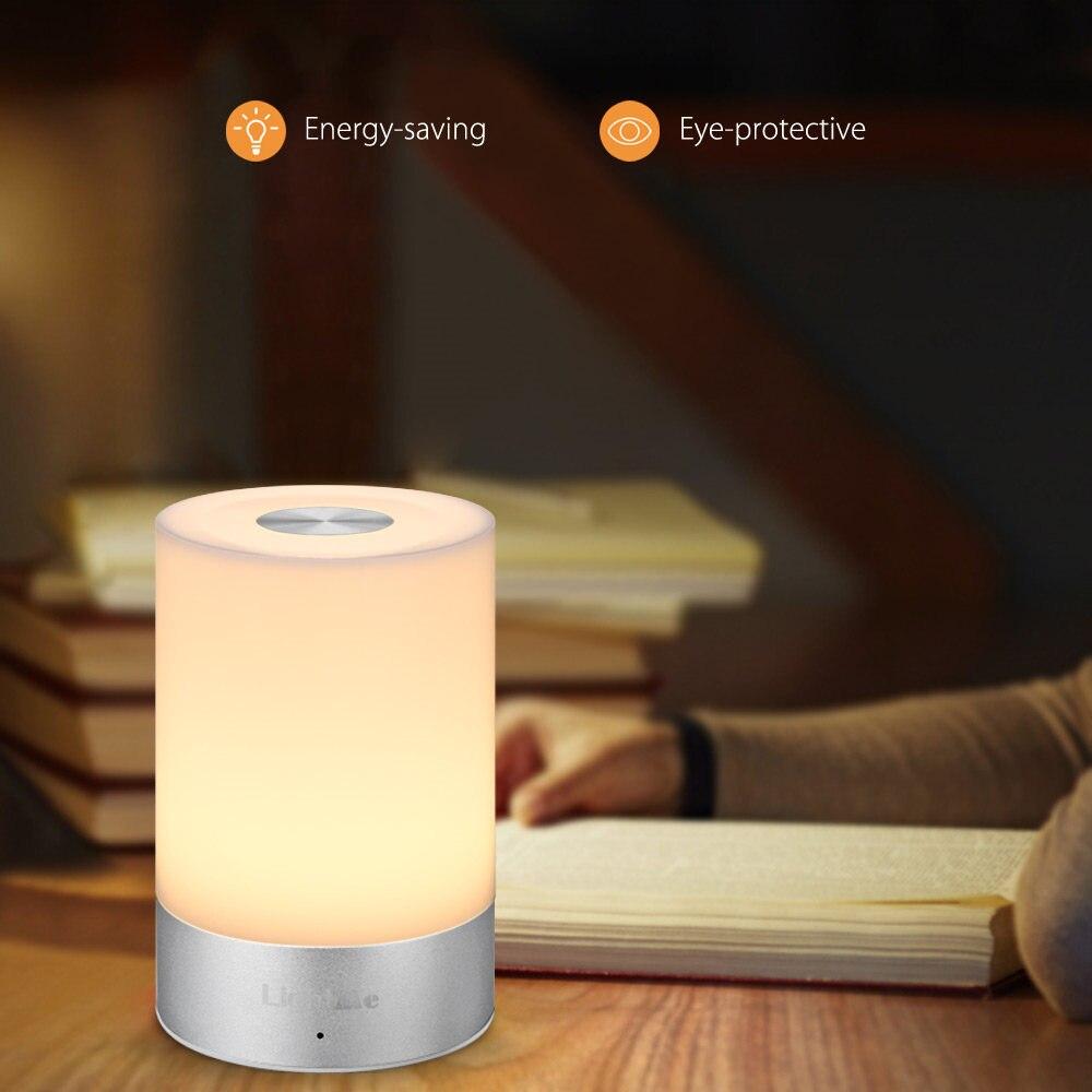 Led smart night lamp - Lightme Smart Bedside Lamp Touch Sensor Led Night Light Rgb Dimmable Atmosphere Led Lamp Intelligent Nightlight