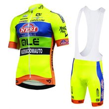 New Cycling Jersey Short Sleeves Set MTB Bike Fluo yellow Ropa Ciclismo  Bicicleta Maillot Ciclismo Hombre 62169fe20