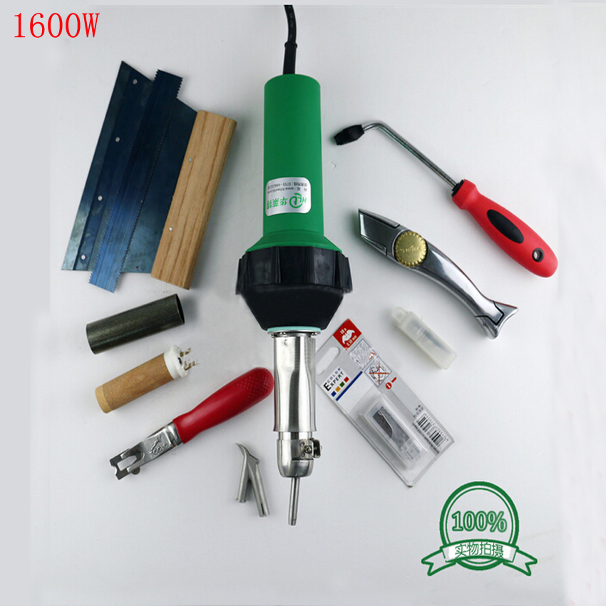 Free by DHL High Quality hot air gun  1600W Hot Air Hand Tool Flooring Kit / Vinyl Welding Kit 110-230V