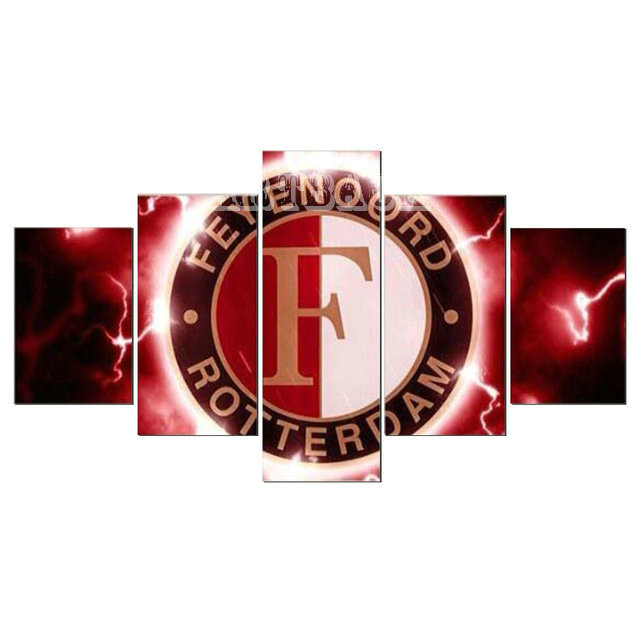 5 spells Diamond painting Feyenoord icon football AJAX 5D full square / round drill rhinestone 3d mosaic living room decoration5 spells Diamond painting Feyenoord icon football AJAX 5D full square / round drill rhinestone 3d mosaic living room decoration