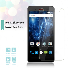 2.5D 0.26mm Ultra Thin Tempered Glass Highscreen Power Ice Evo Toughened Protector Film Protective Screen Case Cover Universal все цены