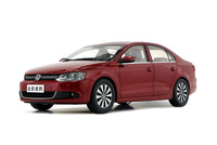 1 18 Diecast Model For Volkswagen VW Sagitar Jetta 2012 Red Alloy Toy Car Collection Gifts