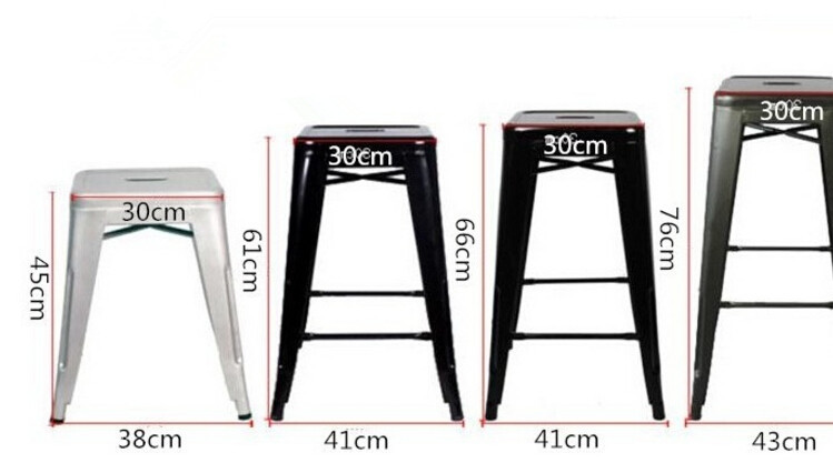 ... 4 pieces/lot 18 inch height metal bar stools iron sheet dining chairs  sc 1 st  AliExpress.com & sheet iron Picture - More Detailed Picture about 4 pieces/lot 18 ... islam-shia.org