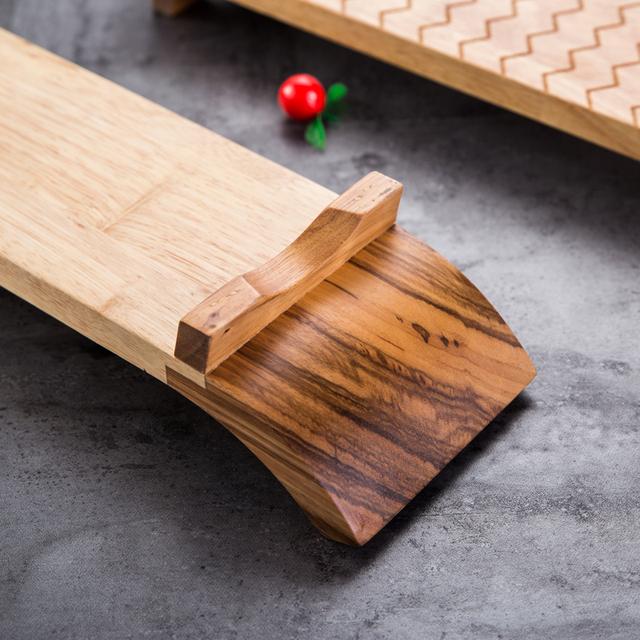 Japanese Style Bamboo Sushi Plate