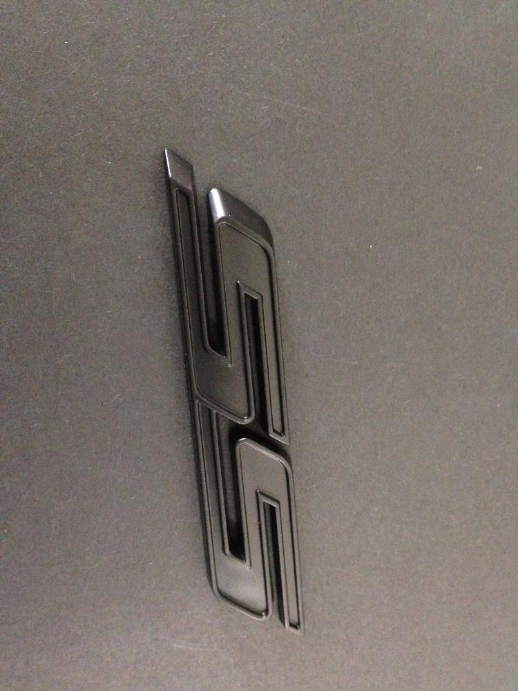 NEW matte & black Camaro SS Emblem Logo- 50 PCS emblem