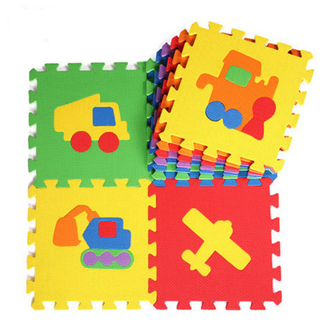 10pcs Foam Puzzle Crawling Play Mat Baby Kids Nursery School Floor Rugs Gym Mats Thick