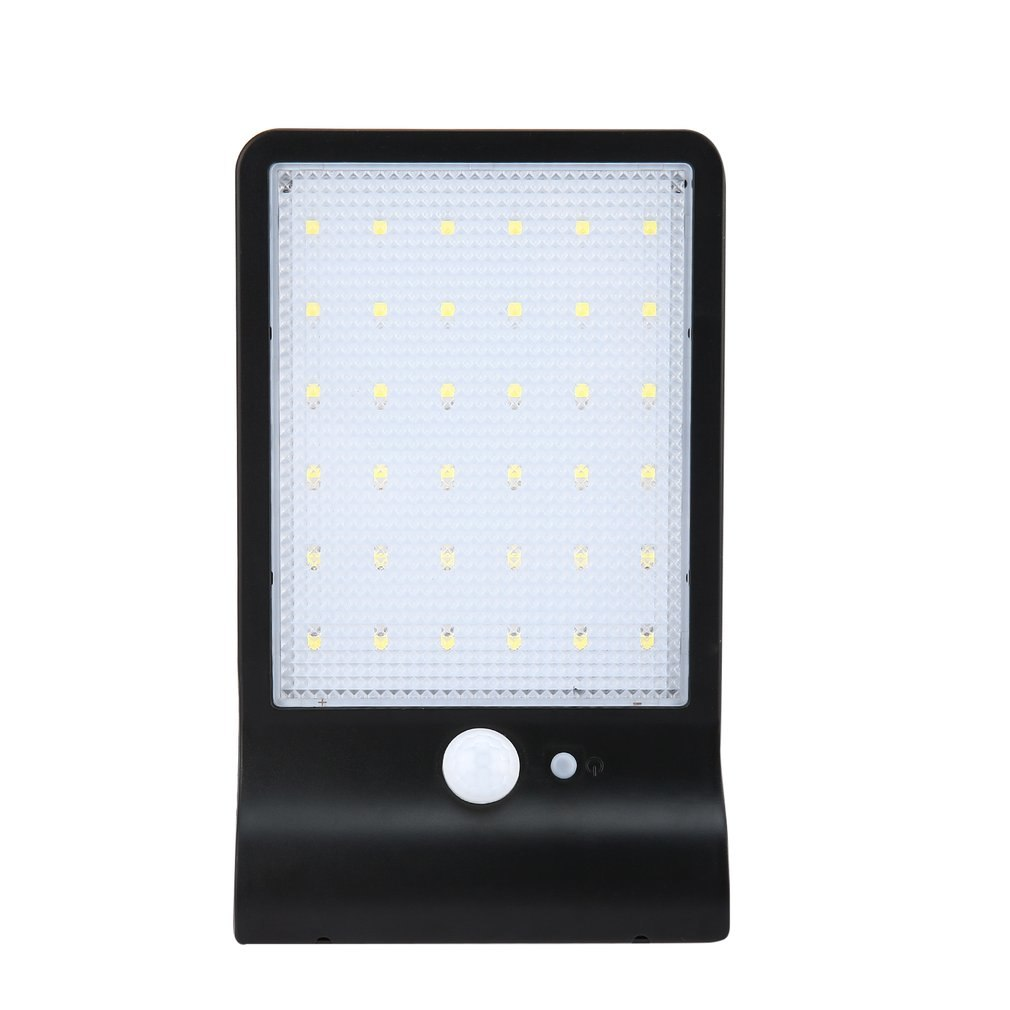 36 LEDs Solar Powered Human Body Induction Lighting Control Wall Lamp for Outdoor Courtyard Waterproof Emergency Night Light outdoor light solar lighting led super bright household outdoor waterproof courtyard body induction courtyard body sens lamp