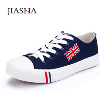 Women shoes 2018 fashion solid color women canvas shoes lace-up All-match casual white Ladies shoes woman sneakers